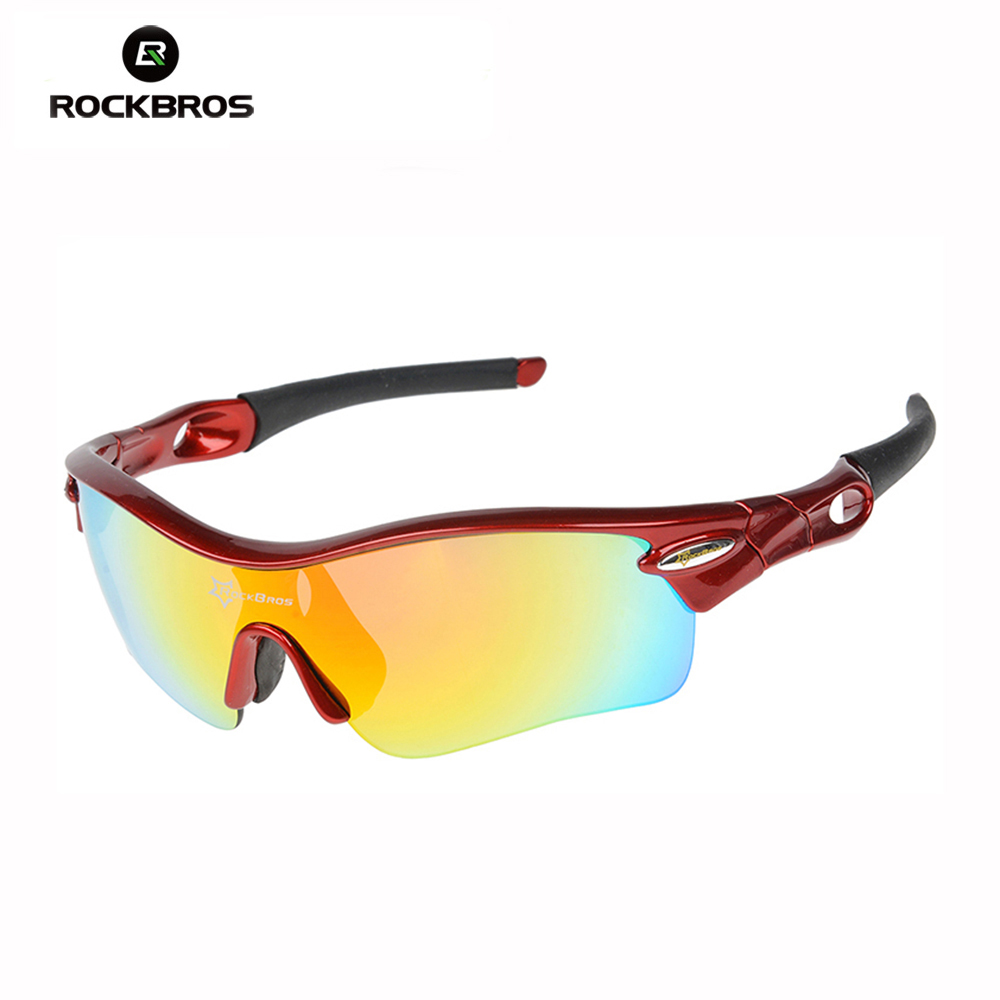RockBros Polarized Cycling Glasses Bike Bicycle TR90 Goggles Sun Glasses Outdoor Sports Eyewear 5 Lens outdoor sports cycling mask bike riding variety turban magic bicycle designal scarf women scarves