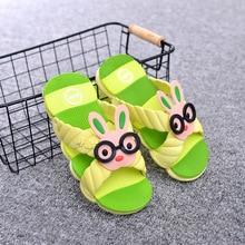 Summer baby children slip floor home slippers cute cartoon bath bathroom home sandals and slippers sandals