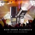 New Wireless Mini Flash Speedlight ZM430 Speedlite for Canon and Nikon, Hot Shoe Flash, Speedlite, Photo Flash