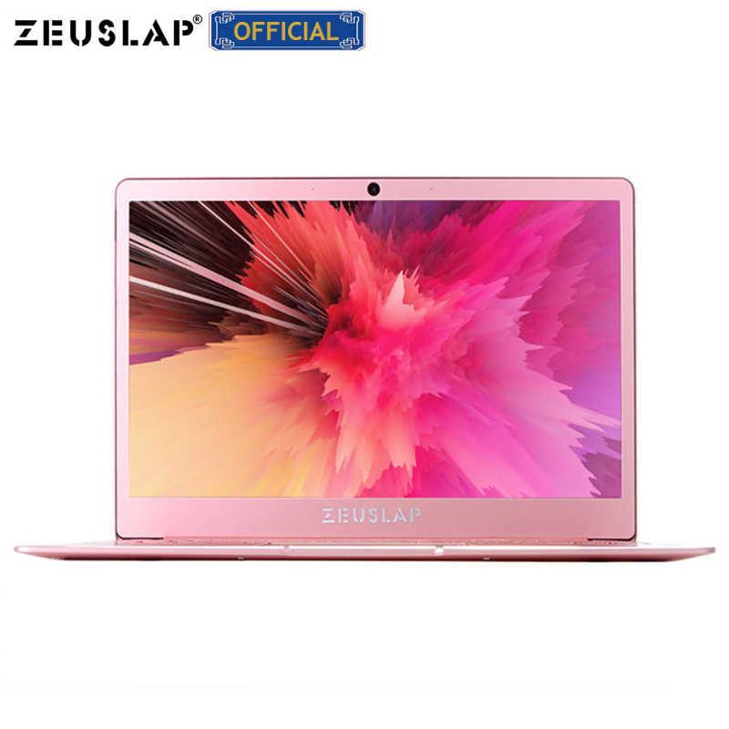 RAM 8GB + 64/128/256/512GB SSD 14 Inch 1920X1080 P HD IPS Màn Hình Intel Quad Core CPU Kim Loại Ultrabook Máy Tính Xách Tay