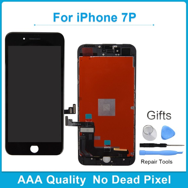 For Apple Iphone 7 Plus AAA Grade LCD Display Touch Screen Digitizer+Touch Screen Digitizer Assembly Replacement Screen New 100%