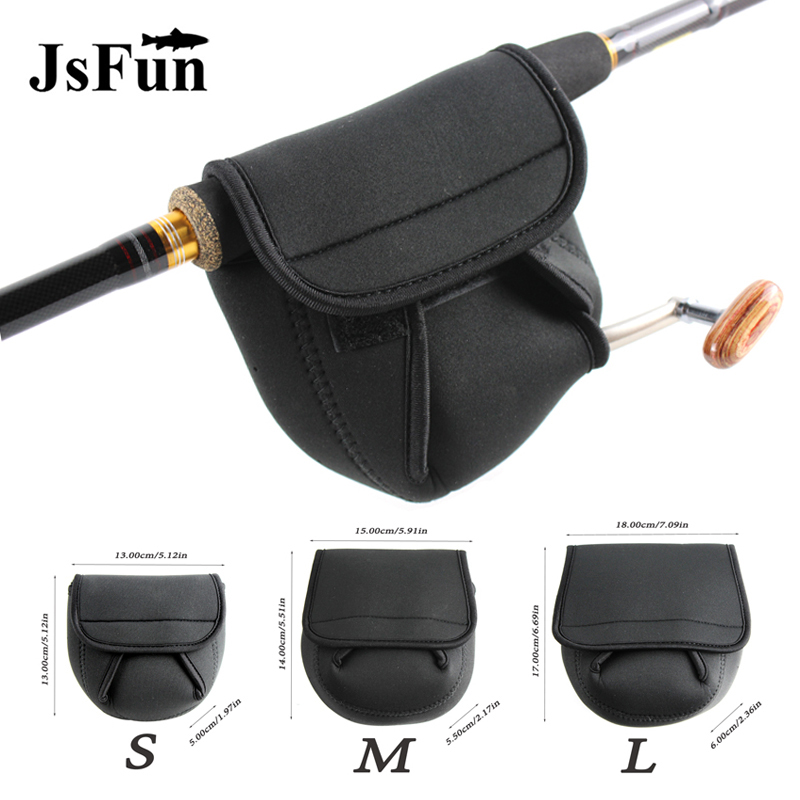 Fishing Bag Spinning Fishing Reel Bag S/M/L Olta Neoprene Reel Protective Case Cover Pesca Outdoor Fishing Tackle PJ127