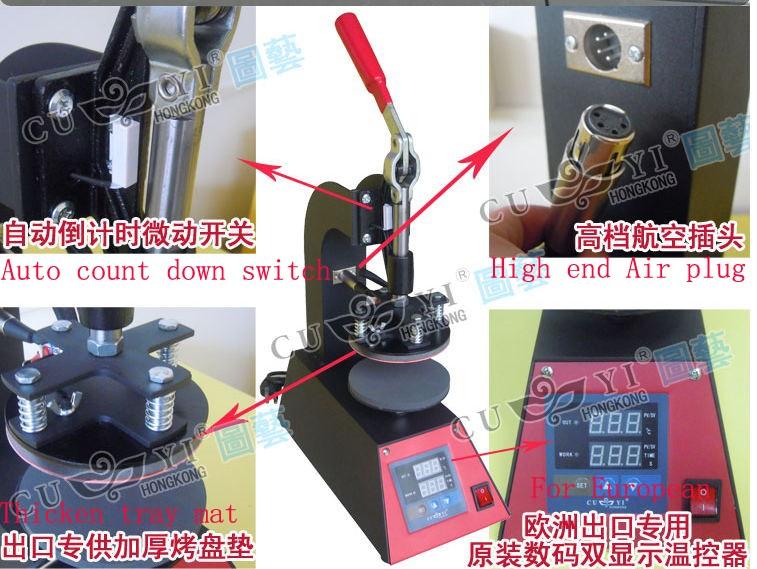 plate heat press machine 7