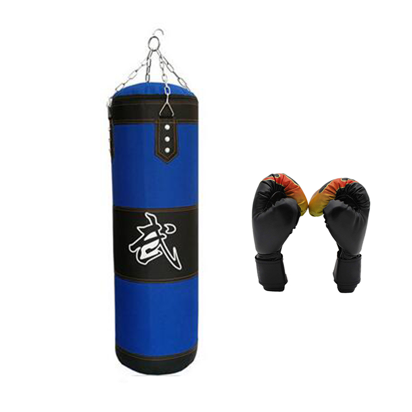 BRAZILIAN MMA Boxing  Punching Bag PU Leather Dark Brown,100cm EL