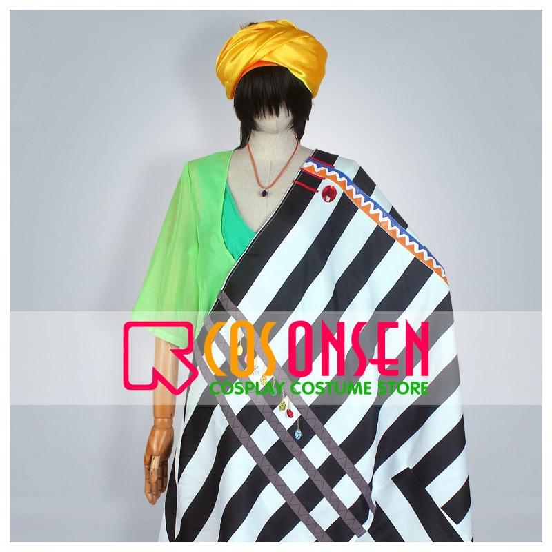 COSPLAYONSEN Free! ED Makoto Tachibana Arabian Cosplay Costume All Size Custom Made