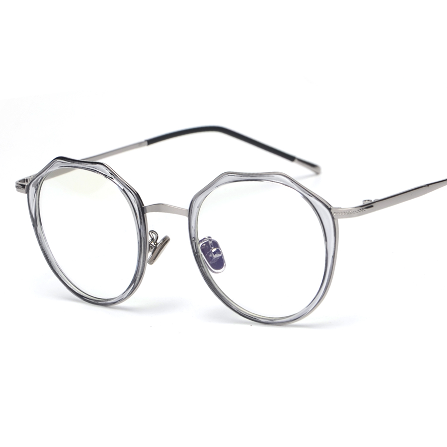 Octagon Oval Vintage Retro Full Metal Pelek Optical Resep KACAMATA FRAMES  Pria Wanita ID7011 Tontonan Kacamata Gaya INGGRIS di Kacamata Frame dari  Aksesoris ... 378886d57a