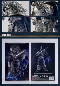 Image 5 - Famous Game Character WOW The Lich King Action Figure Fall of the Lich King Arthas Menethil 7 inch PVC Toy Figure Free shipping