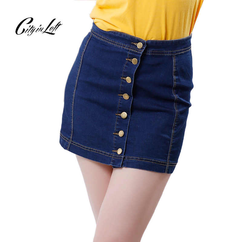 Popular Dark Denim Skirt-Buy Cheap Dark Denim Skirt lots from ...