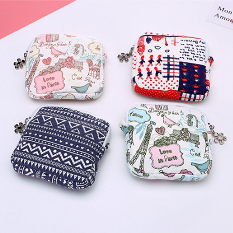 Women Travel Small Portable Cosmetic Bag Cute Small Makeup Purse Case Beauty Wash Organizer Storage Make Up Toiletry Bath Box