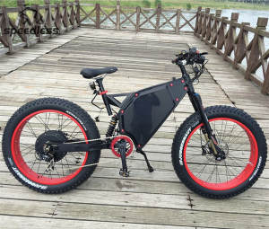 Powerful 72 V 5000 W Fat Tire Electric bike/Electric Mountain Bike/Electric bicycle
