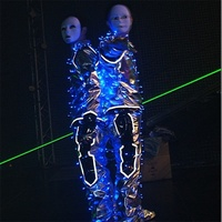 Wecool China factory direct wholesale new design hand laser sword 2 pcs green lasers laser sword for laser man dance show