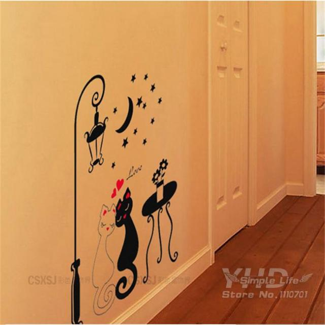 Cartoon car Flower vine DIY Vinyl Wall Stickers For Kids Rooms Home Decor Art Decals 3D Wallpaper decoration adesivo de parede