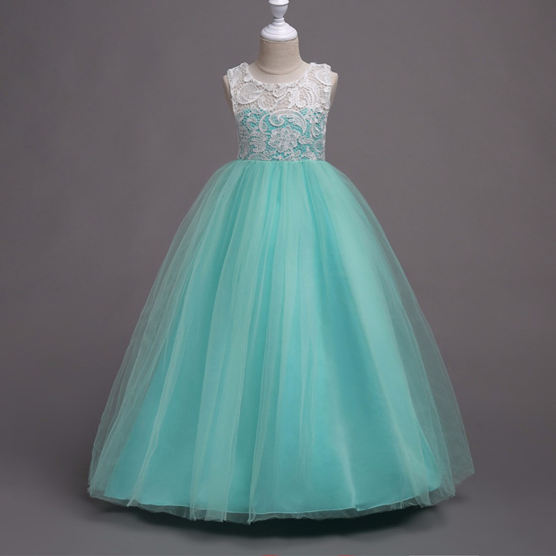 Summer flower girl dress top grade 3 16 yrs baby princess for Best dresses for summer wedding