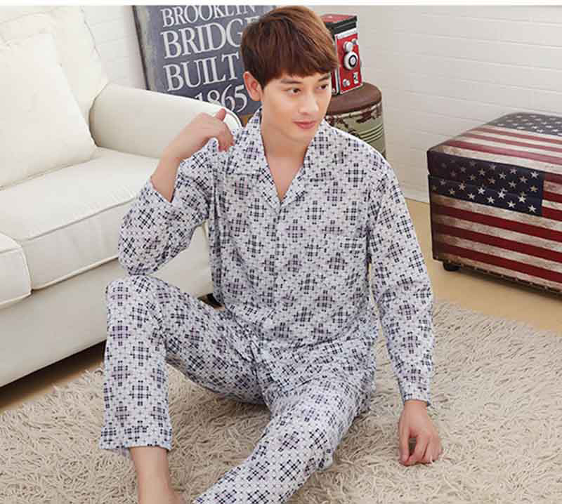 Underwear & Sleepwears Men's Sleep & Lounge Friendly Free Shipping Mens Plus Size Short Sleeve Shorts Sleepwear Set Soft 100% Cotton Pajamas Nightgown Summer Homewear 5xl Turn Down