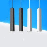 Fanlive 10PCS Square COB Downlights 5W 7W 12w Led Chandelier Surface Mounted LED Spot Light For Restaurant Hotel Bar AC85V 265V