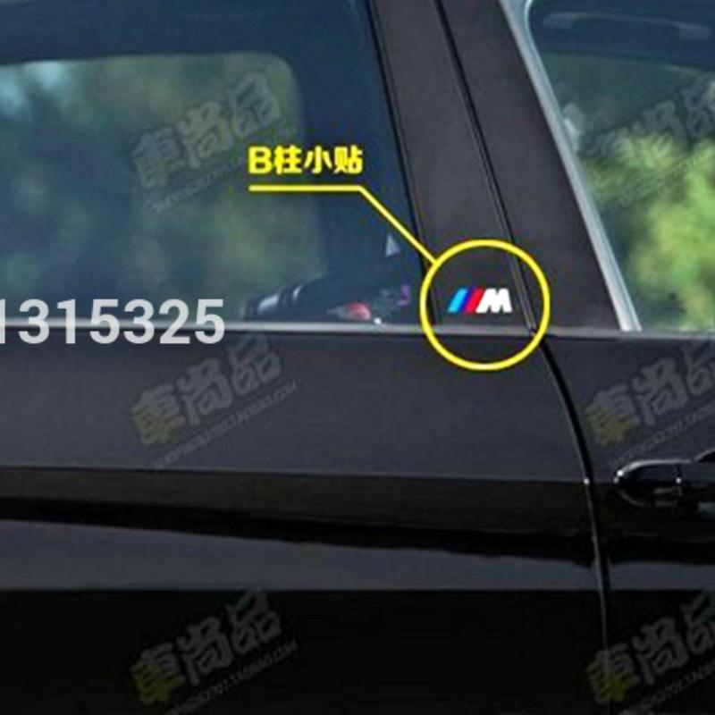 Aliauto X New Style M Logo Whole Body Stickers Brake Calipers - Bmw m brake caliper decals