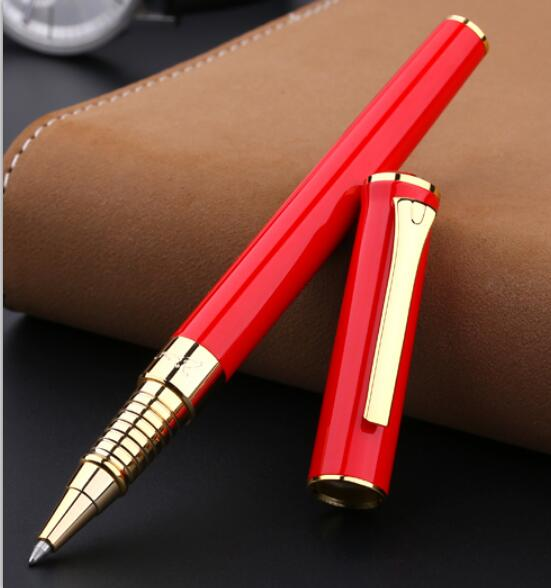 Smooth Writing Medium Refill Picasso Pimio 988 Rollerball Pen Black White Red Business Office Gift Sign Pens with A Gift Box versace костюм