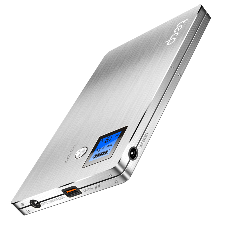 цена на High capacity 5V,9V,12V,15V,16V,19V,19.5V,20V,24V Lithium Li-polymer 120000mah USB QC Battery for Laptop cellphone power supply