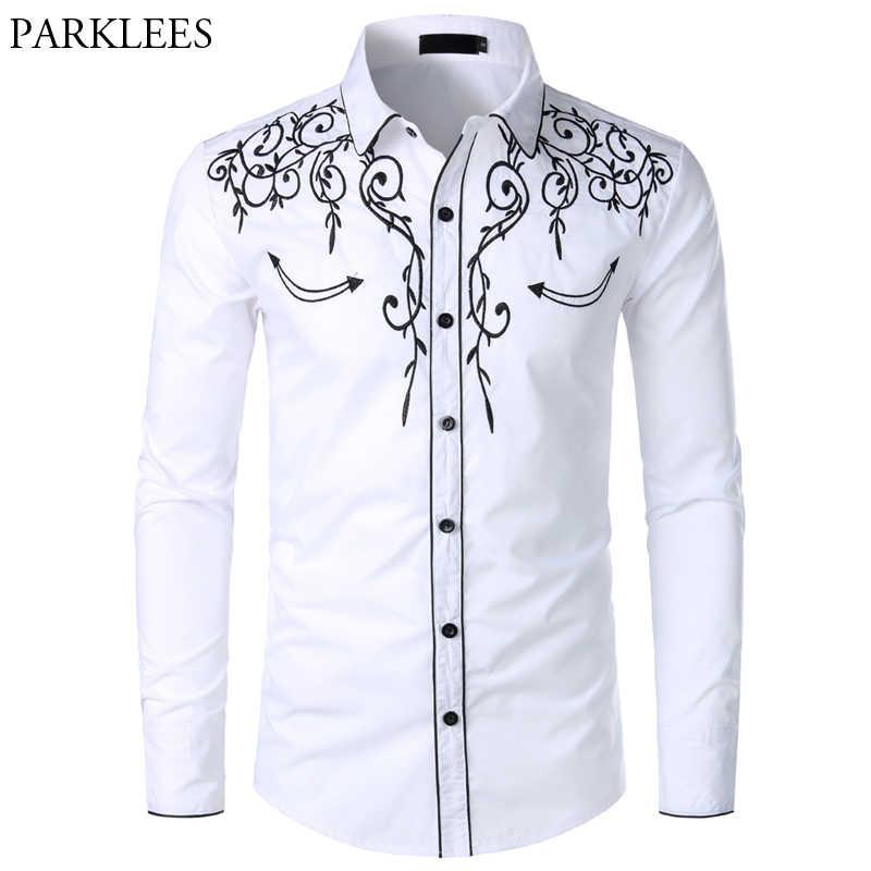 Mens Western Cowboy Shirt Stylish