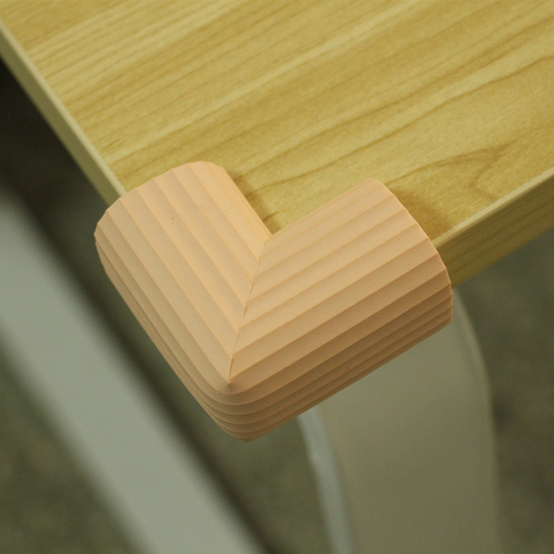 Pink PVC Soft Baby Children Kids Safe Table Desk Corner Protector Guard Cover Furniture Desk Table Furniture Accessories 20pcs pvc soft baby children kids safe bed table desk corner protector cover furniture accessories white green coffee