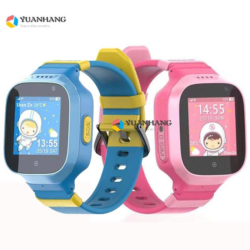 2018 IP67 Waterproof 3G Wifi GPS Tracker Child Kids Watch Remote Monitor Camera SOS Call Anti