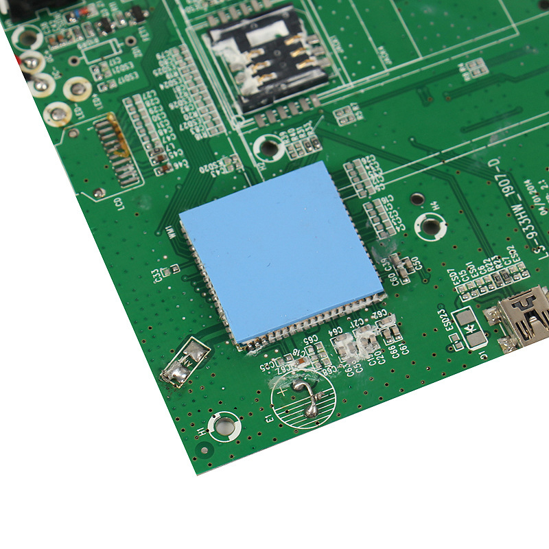 US $1 2 26% OFF|Overfly 10mm*10mm*1mm 100 pcs Thermal Pad GPU CPU Heatsink  Cooling Conductive Silicone Pad-in Fans & Cooling from Computer & Office on