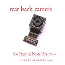 Nova câmera traseira original para xiaomi redmi nota 5a/prime redmi y1/y1 lite/y1 prime