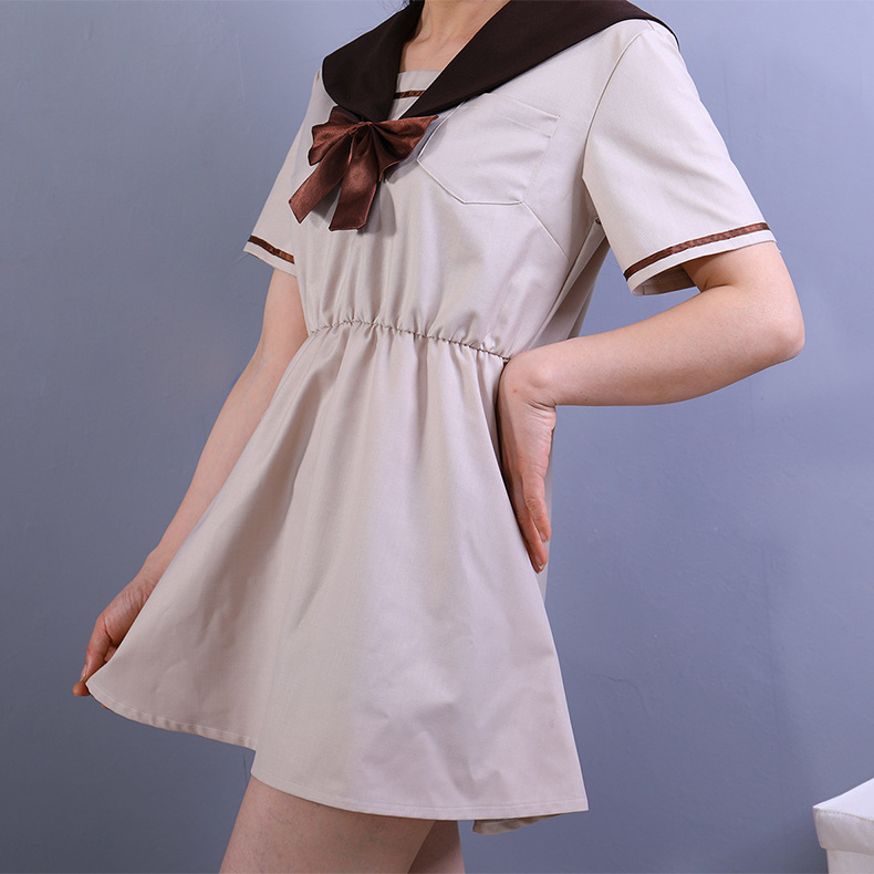 Summer Short-sleeved High School Students Uniforms Dress Female College Class Service Japanese Skirt