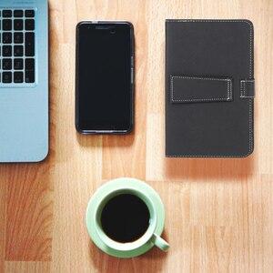 Image 5 - Складной магнитный чехол книжка из искусственной кожи, складной чехол подставка без клавиатуры, стилус для планшета Android 7, 8 дюймов