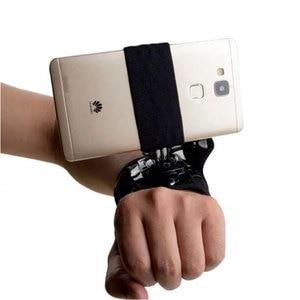 Image 3 - Universale Supporto Della Cinghia di Chest Harness Strap Phone Supporto Del Supporto di Aspirazione Del Telefono Testa/Cinturino Da Polso Monopiede per il iphone Huawei Samsung