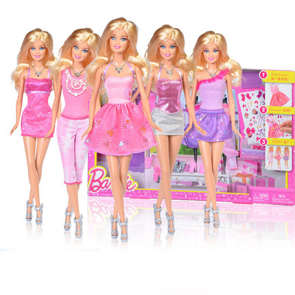 Barbie Dolls Fashion Girl Dolls Combo With Clothing Set Barbie For Girls  Birthday Gift Children Gift. Online Get Cheap Barbie Tv Set  Aliexpress com   Alibaba Group
