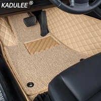 KADULEE tapis de sol de voiture pour ssangyong kyron actyon korando rexton accessoires tapis imperméable tapis revêtements de sol