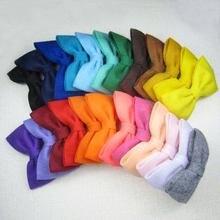 Бесплатная доставка! 24 шт/лот новейший фетровый галстук бабочка