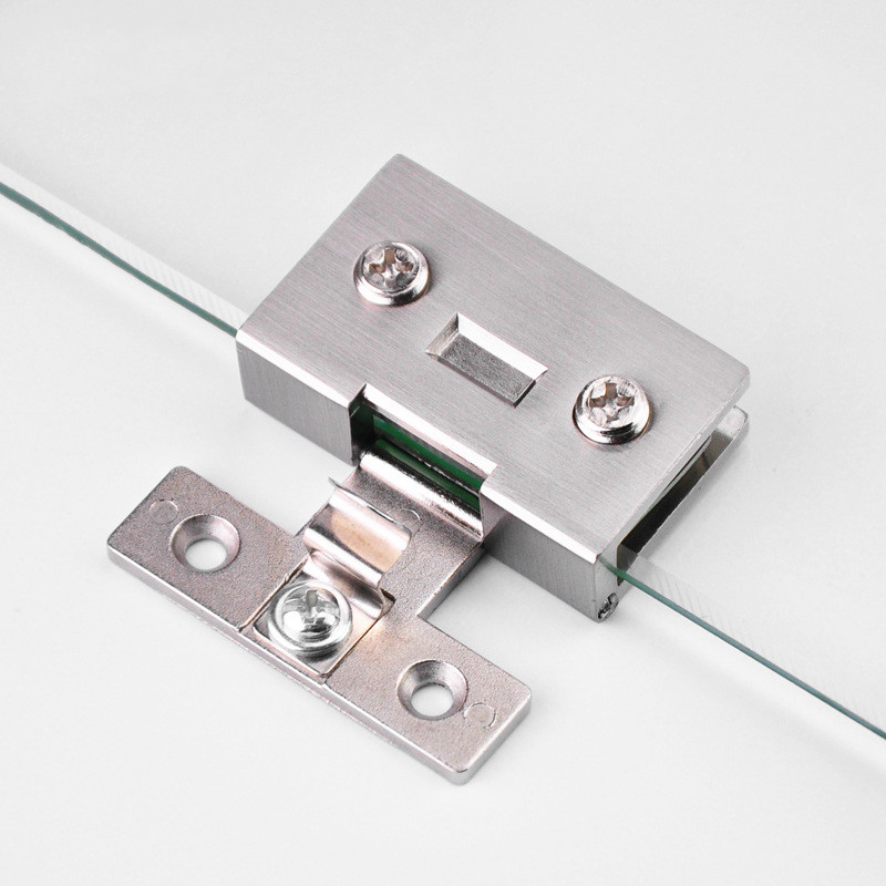 1 Pcs High Quality Free Opening Wine Cabinet Cabinet Glass Hinge Furniture Hardware Accessories Cake Cabinet Glass Hinge