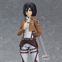 Attack on Titan Classic Collection 15cm Mikasa Ackerman PVC Figures Collectible Model Toy Action Figure China Version JR002