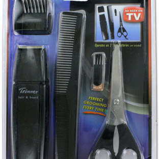 as seen on tv Trimmer Grooming Kit - Pack of 10 овощерезка as seen on tv multi vegetable chopper цвет оранжевый