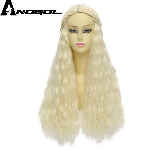 Anogol High Temperature Fiber Ice Middle Part Fire Natural Long