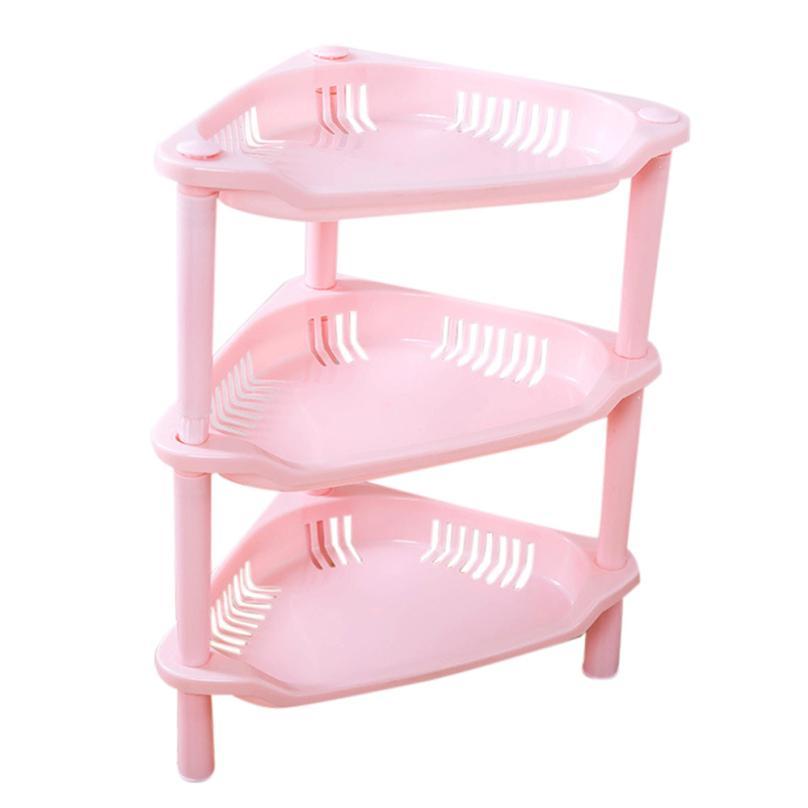 3 Tier Plastic Corner Shower Caddy Corner Shelf Organizer Holder ...