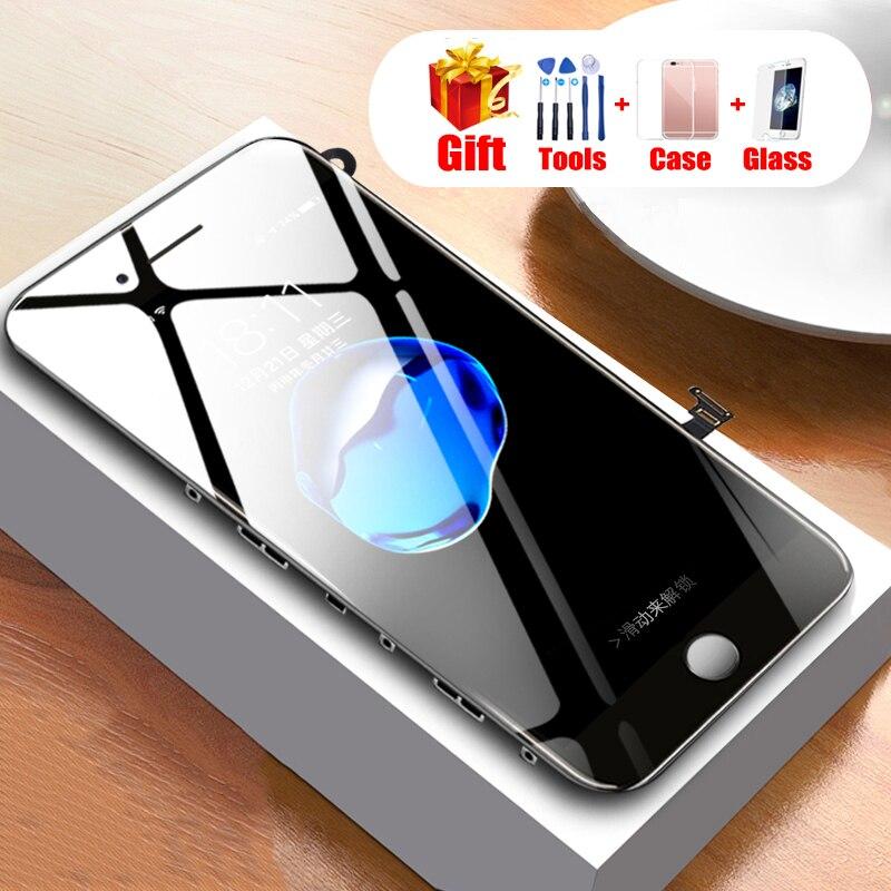 AAA LCD D'origine Affichage Pour iPhone 7 8 7 p 8 p 8 Plus Remplacement Affichage à L'écran Tactile Digitizer Assemblée pour iPhone 7 Plus 8 Plus