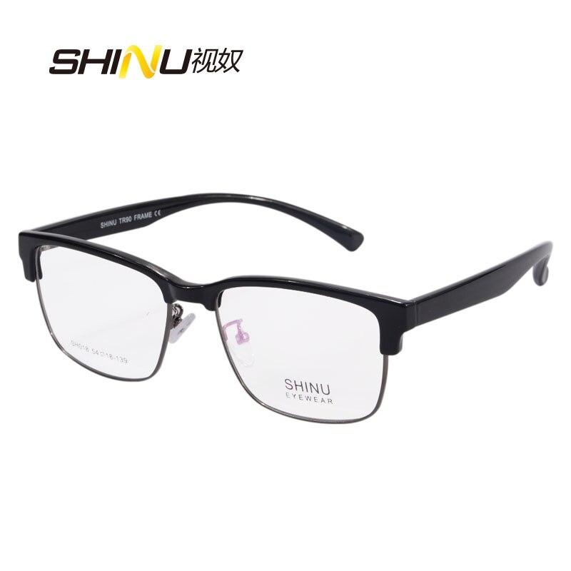 High Quality Unisex Progressive Multifocal Lens Reading Glasses Men Women Presbyopia Hyperopia Bifocal Eyeglasses Oculos De