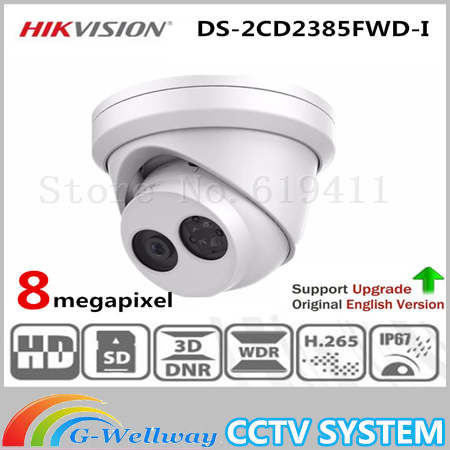 Hikvision DS-2CD2385FWD-I 8MP H.265+ POE CCTV Network Security Camera 30m IR Range Dome IP Camera cd диск fleetwood mac rumours 2 cd