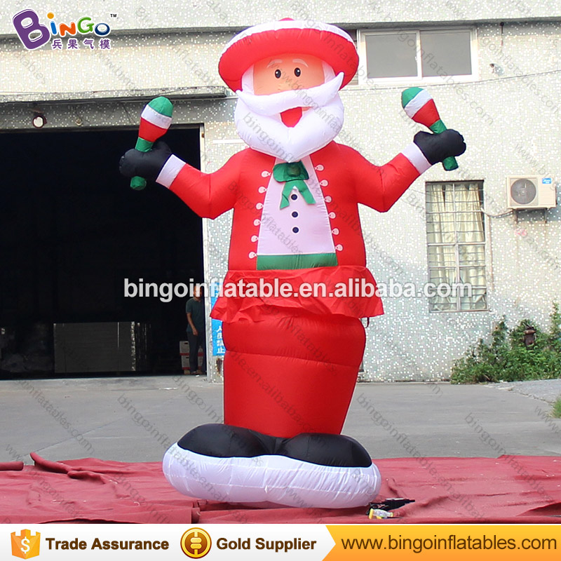 Free express 2M high inflatable swing Santa Claus for Christmas party decoration blow up Father Christmas model festival toysFree express 2M high inflatable swing Santa Claus for Christmas party decoration blow up Father Christmas model festival toys