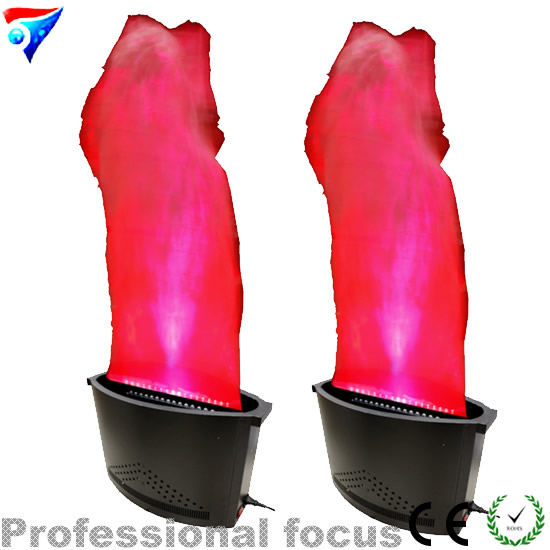 Free shipping 2pcs/lot led led flame light for nightclub stage effect fire machine
