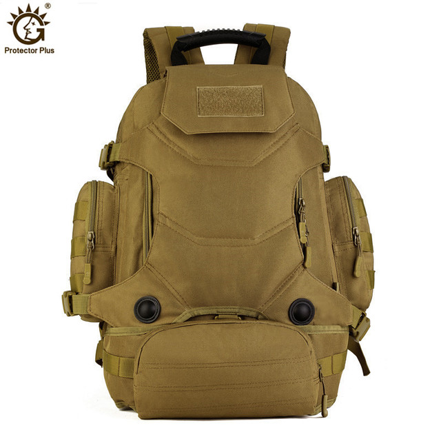 40L Military Tactical Backpack Camouflage Mochila Men Women Outdoor Hiking Sport Bags Molle Army Rucksack Travel Backpack