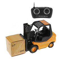 Mini RC Toy Forklift Fork Lift Radio Remote Control Truck Car Children's Toys