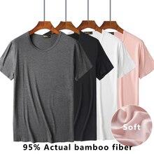 купить!  Удобная мужская традиционная майка из бамбукового волокна вискоза  черный белый розовый серый Лучши