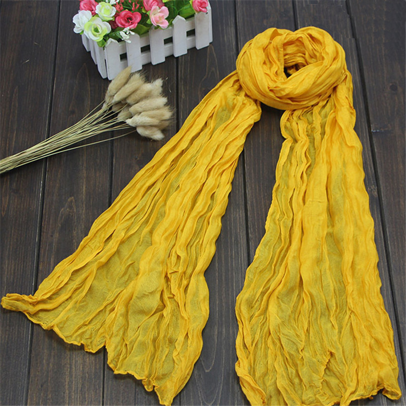 Fashion Soft Trendy Long Voile Scarfs Spring and autumn Women   Scarf   shawls   wraps   lady