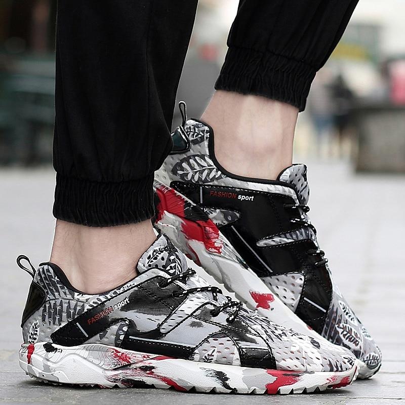 2017 Novi ljetni respektabilni muškarci Casual Shoes Haljina Mens - Muške cipele - Foto 3
