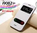Откидной кожаный чехол для телефона samsung Galaxy Grand Duos Neo Plus GT 9082 9060 I9082 I9060 I9060i GT-I9060 Тонкий чехол с окошком - фото