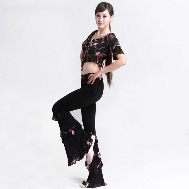 Para mujer trajes de danza moderna ropa india de la danza
